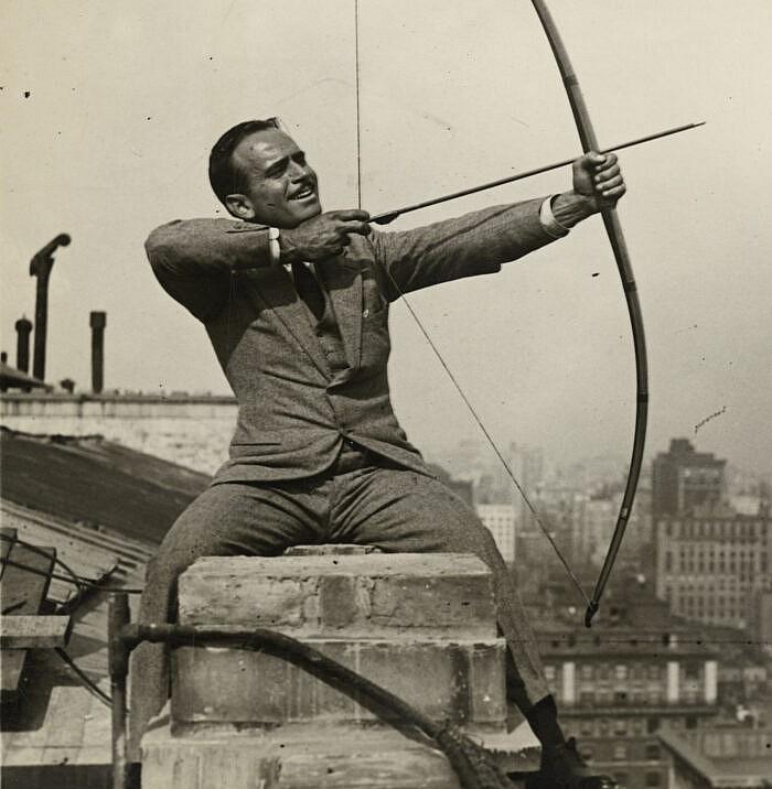 Douglas Fairbanks, je suis une légende