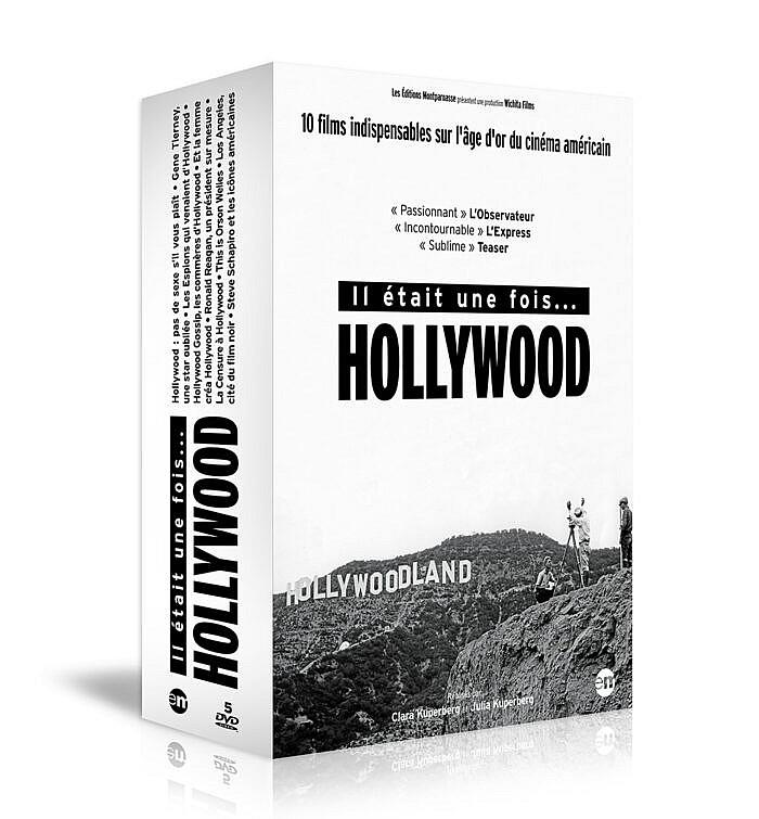 Coffret 5 DVD «Il était une fois Hollywood»