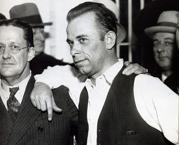 La véritable histoire de John Dillinger