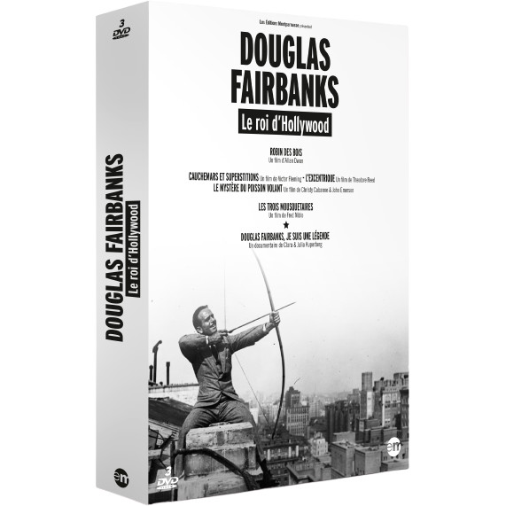 SORTIE DU COFFRET DVD « DOUGLAS FAIRBANKS LE ROI D'HOLLYWOOD »