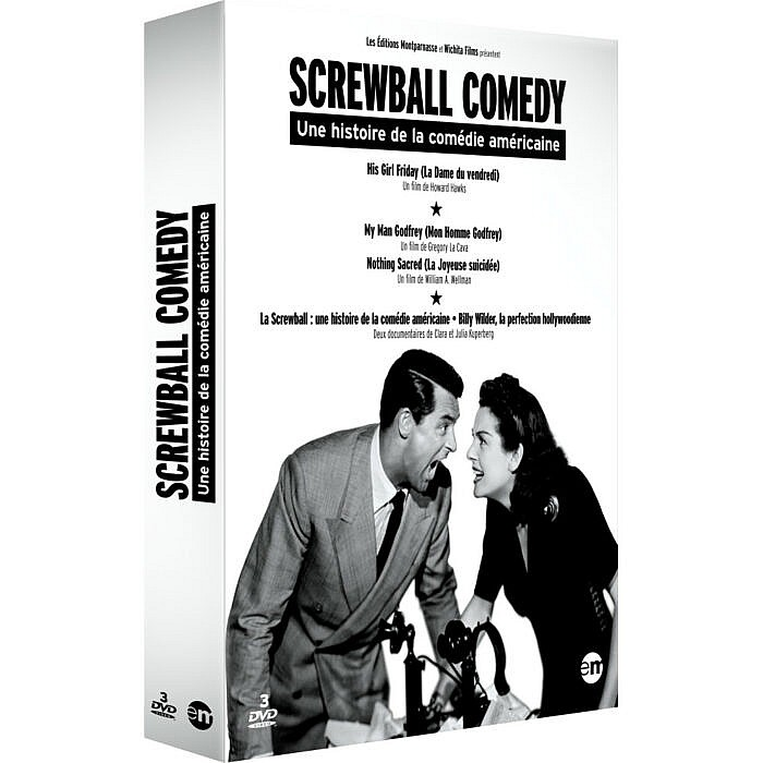 SORTIE DU COFFRET DVD « SCREWBALL COMEDY »
